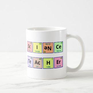 Professeur de Sciences Mug Blanc