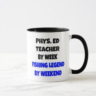 Professeur d'éducation physique de légende de mugs