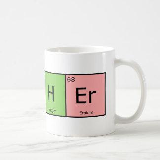 Professeur d'éléments chimiques mug