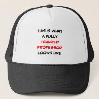 professeur entièrement titulaire casquette