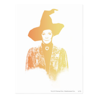 Professeur Minerva McGonagall Carte Postale