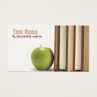 Professeur ou professeur cartes de visite