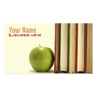 Professeur ou professeur cartes de visite cartes de visite professionnelles
