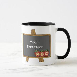 Professeur personnalisable de tableau mugs