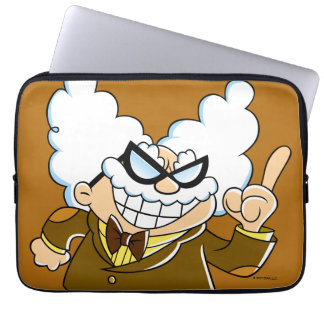 Professeur Poopypants de capitaine Underpants | Housse Ordinateur Portable