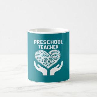 Professeur préscolaire mug