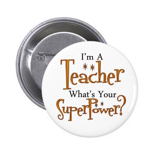 Professeur superbe pin's avec agrafe