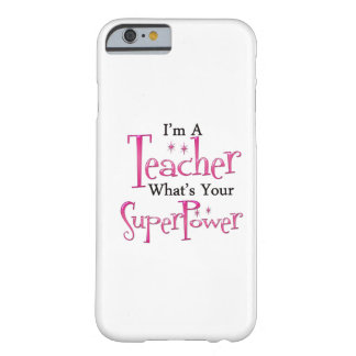 Professeur superbe coque iPhone 6 barely there