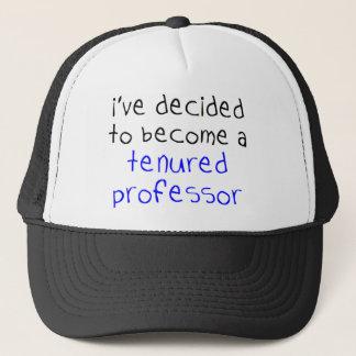 professeur titulaire casquette