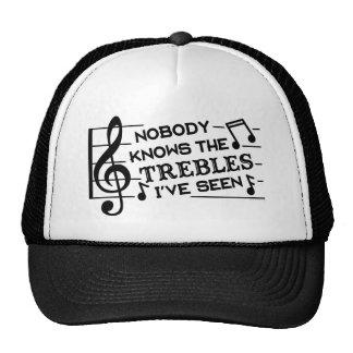Professeurs de musique triples du calembour | de casquette de camionneur