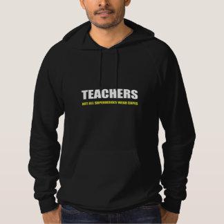 Professeurs non tous les caps d'usage de super pull à capuche