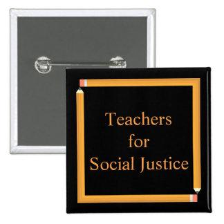 Professeurs pour la justice sociale badges