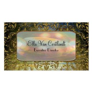 Professionnel baroque élégant de Sashee Carte De Visite Standard