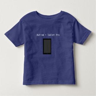 Professionnel de comprimé d'autisme - drôle t-shirt pour les tous petits