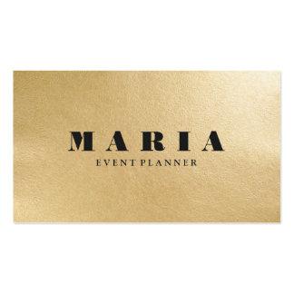 Professionnel de luxe moderne de texture de noir carte de visite standard