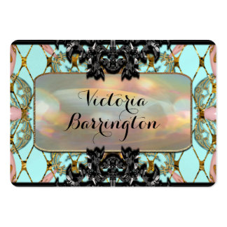 Professionnel de perle de Villamore Carte De Visite Grand Format