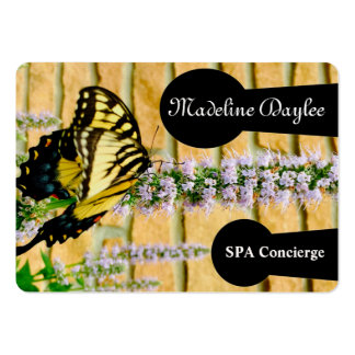 Professionnel de spa de papillon carte de visite grand format