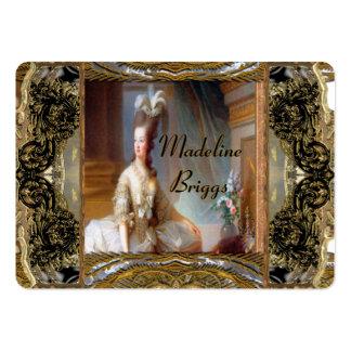 Professionnel élégant de Marie Antoinette Carte De Visite Grand Format