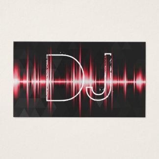 Professionnel frais moderne DJ Cartes De Visite