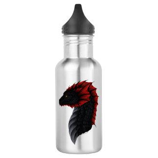 Profil de dragon d'Alavon bouteille d'eau de 18