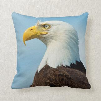 Profil d'Eagle chauve Oreiller