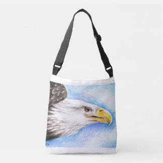 Profil d'Eagle chauve Sac