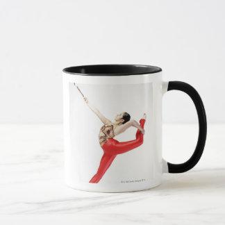 Profil latéral d'une pratique en matière femelle mug
