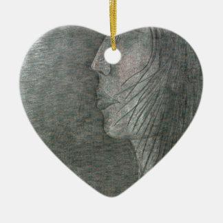 Profil Ornement Cœur En Céramique