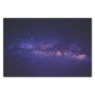 Profil sous convention astérisque de galaxie de papier mousseline