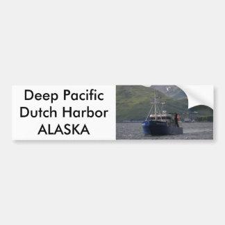 Profondément Pacifique, ligneur dans le port néerl Autocollant Pour Voiture