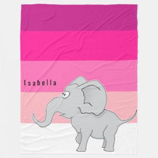 Profonds chauds étonnés d'éléphant pâlissent - le couverture polaire