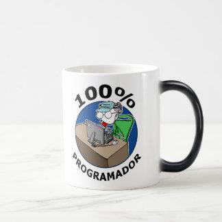 Programador 100% tasse à café