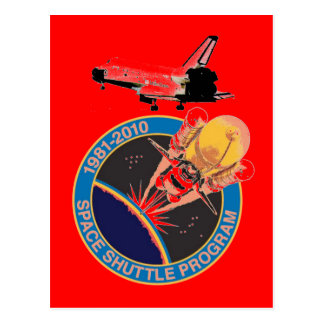 Programme 1981-2010 de navette spatiale de la NASA Carte Postale