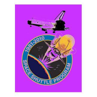 Programme 1981-2010 de navette spatiale de la NASA Cartes Postales