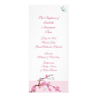 Programme baptismal 1/5 de fleurs de cerisier
