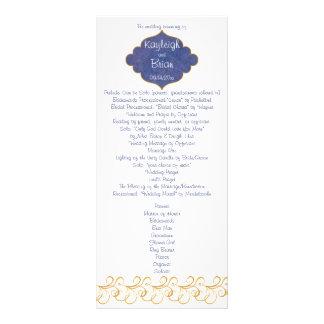 Programme de mariage de gloire de paon