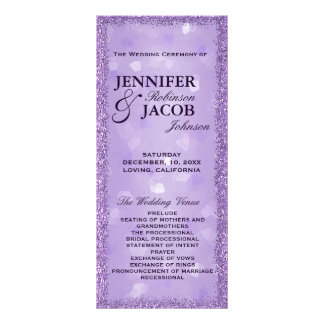 Programme de mariage de LavenderLights