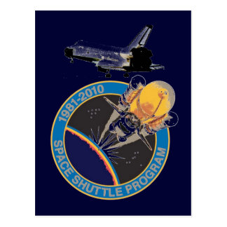Programme de navette spatiale de la NASA Carte Postale