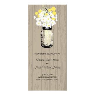 Programme en bois rustique de pot et de fleurs