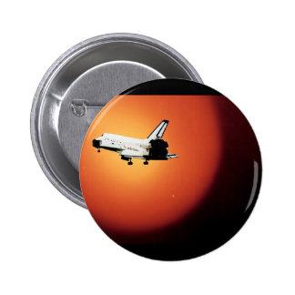 Programme final de navette spatiale de la NASA de  Badge Rond 5 Cm