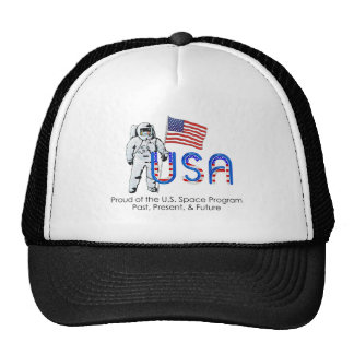 Programme spatial des États-Unis de PIÈCE EN T Casquettes De Camionneur