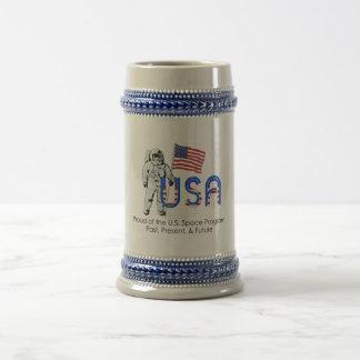 Programme spatial des États-Unis de PIÈCE EN T Chope À Bière