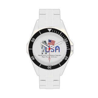 Programme spatial des États-Unis de PIÈCE EN T Montres Bracelet