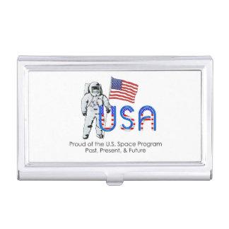 Programme spatial des États-Unis de PIÈCE EN T Porte-cartes De Visite