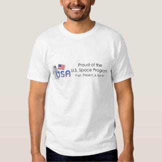 Programme spatial des États-Unis de PIÈCE EN T T-shirts