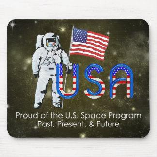 Programme spatial des États-Unis de PIÈCE EN T Tapis De Souris