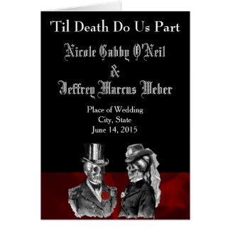 Programme squelettique de mariage