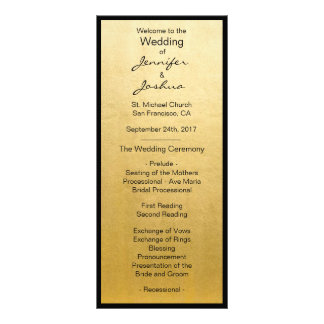 Programmes élégants de mariage de conception de modèle de double carte