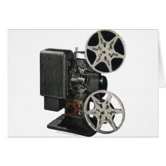 Projecteur de film 1947 carte de vœux