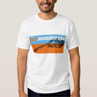 Projet de mandoline de jazz t-shirts